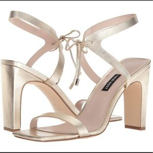 Nine West Longitano Metallic Heels